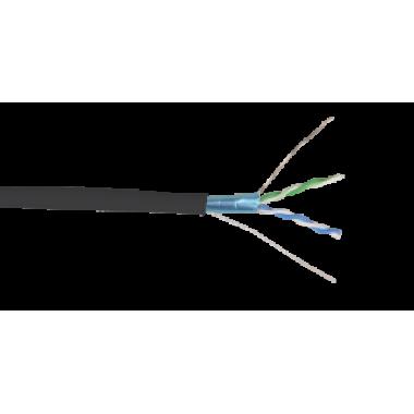 ITK BC3-C5E02-339 Кабель связи витая пара ШПД F/UTP кат.5E 2 пары solid LDPE 500м черный