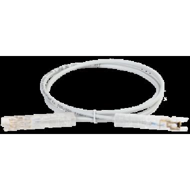 ITK PC01-110-1P1M Патч-корд 110-110 1 пара кат.5Е 1м серый