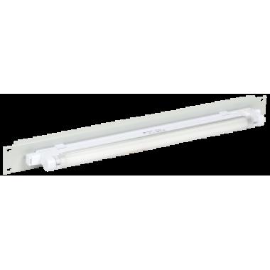 """ITK 19"""" осветительная панель 1U с ручным вкл. серая"""