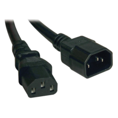 ITK PC-C19C20-1M  Кабель электропитания PDU 3х1,5мм2 1м с разъёмами С19-C20