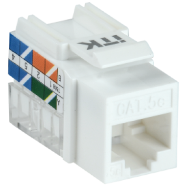 ITK CS1-1C5EU-11 Модуль Keystone Jack категория 5E UTP 110 IDC 90 градусов