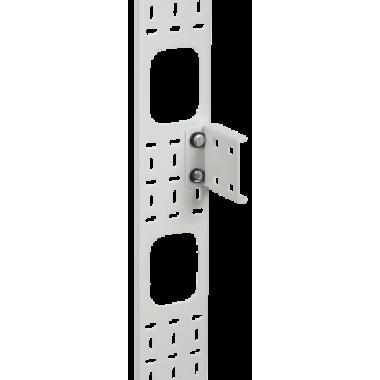 ITK CO35-07533 Вертикальный кабельный органайзер 33U 75x12мм серый
