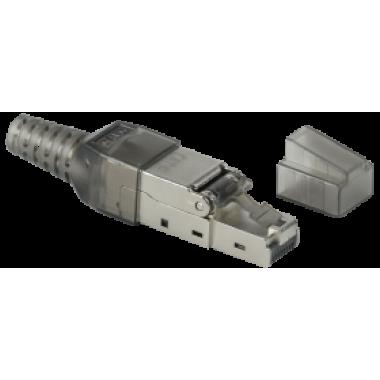 ITK CS3-1C06F-Q Разъём RJ-45 FTP для кабеля кат.6 полевая заделка
