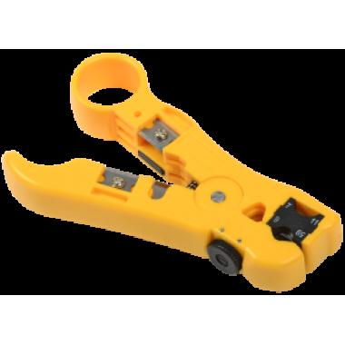 ITK Инструмент для зачистки и обрезки витой пары и коаксиального кабеля
