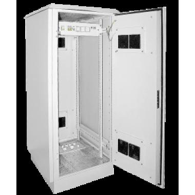 """ITK LO35-24U78-MM55 Шкаф уличный напольный 19"""" LINEA O 24U 720x860мм IP55 металлическая дверь серый"""