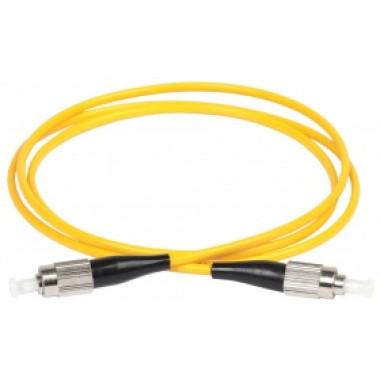 ITK FPC09-FCU-FCU-C1L-2M  Оптический коммутационный соединительный шнур (патч-корд), SM, 9/125 (OS2), FC/UPC-FC/UPC, (Simplex), 2м
