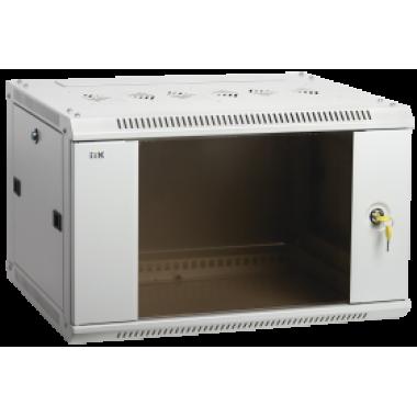 ITK LWR3-18U66-GF Шкаф настенный LINEA W 18U 600x600мм дверь стекло RAL7035