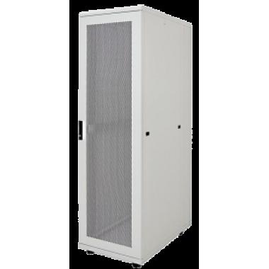"""ITK LS35-42U81-PP-1 Шкаф серверный 19"""" LINEA S 42U 800х1000мм перфорированные передняя и задняя двери серый (место 1 из 3)"""