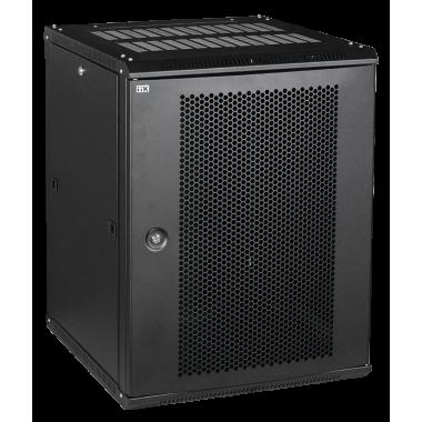 ITK LWR5-06U64-PF Шкаф настенный LINEA W 6U 600x450мм дверь перфорированная RAL9005