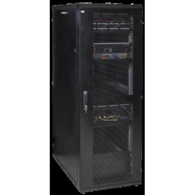 """ITK LS05-48U81-PP-Z-1 Шкаф серверный 19"""" LINEA S 48U 800х1000мм перфорированные двери черный (место 1 из 3)"""
