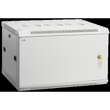 ITK LWR3-18U64-MF Шкаф настенный LINEA W 18U 600x450мм дверь металл RAL7035