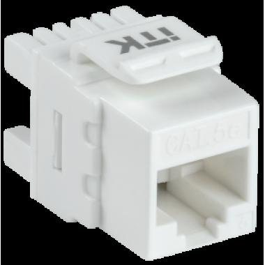 ITK CS1-1C5EU-12 Модуль Keystone Jack категория 5E UTP 110 IDC 180 градусов