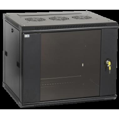ITK LWR5-06U64-GF Шкаф настенный LINEA W 6U 600x450мм дверь стекло RAL9005