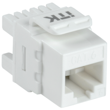 ITK CS1-1C06U-12 Модуль Keystone Jack категория 6 UTP 110 IDC 180 градусов