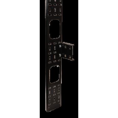 ITK CO05-07533 Вертикальный кабельный органайзер 33U 75x12мм черный