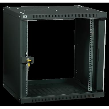 ITK LWE5-12U53-GF Шкаф настенный LINEA WE 12U 550x350мм дверь стекло черный