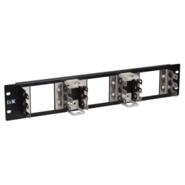 ITK KF150-3U05A 3U рама для крепления 15 плинтов типа Krone (LSA-PLUS), черная