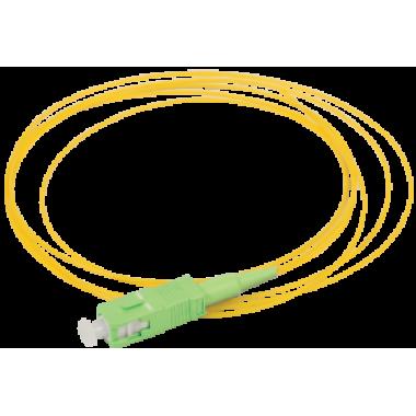 ITK FPT09-SCA-C1L-1M5 Оптический коммутационный монтажный шнур (пигтеил), (SM), 9/125 (OS2), SC/APC, LSZH, 1,5м