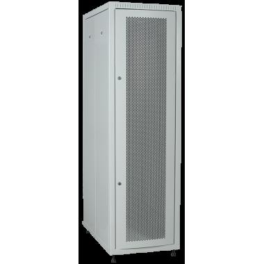 ITK LE35-24U61-PM Шкаф сетевой напольный LINEA E 24U 600х1000мм перфорированная передняя дверь задняя металлическая серый