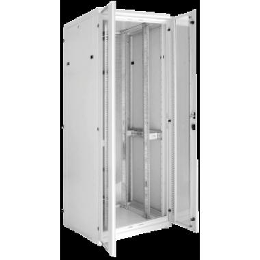 """ITK LS35-33U81-2PP-1 Шкаф серверный 19"""" LINEA S 33U 800х1000мм передняя двухстворчатая перфорированная дверь, задняя перфорированная серый (комплект 3 коробки - часть 1 из 3)"""