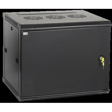 ITK LWR5-06U64-MF Шкаф настенный LINEA W 6U 600x450мм дверь металл RAL9005