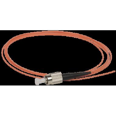 ITK Оптический коммутационный монтажный шнур (пигтеил), (MM), 50/125 (OM2), FC/UPC, LSZH, 1,5м