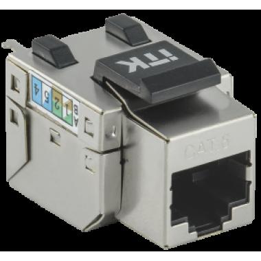 ITK CS1-1C06F-11 Модуль Keystone Jack категория 6 FTP 110 IDC 90 градусов розеточный
