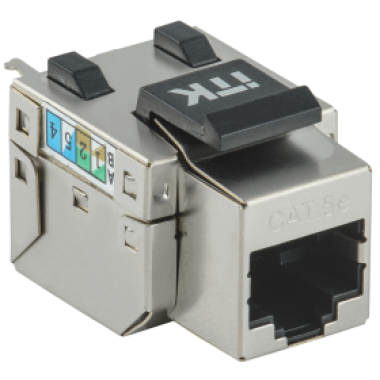 ITK CS1-1C5EF-11 Модуль Keystone Jack категория 5E FTP 110 IDC 90 градусов розеточный